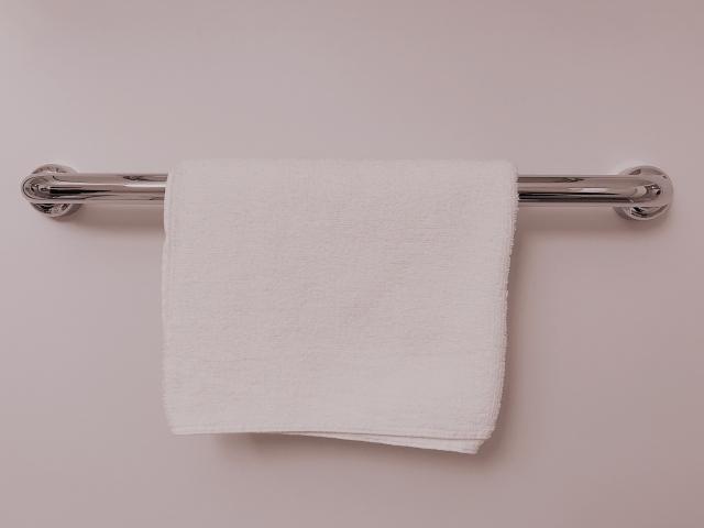 トイレ タオル掛け 使わない