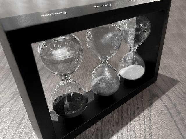 砂時計 プレゼント 意味